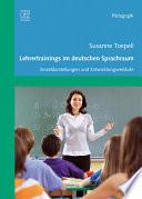 Lehrertrainings im deutschen Sprachraum