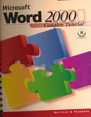Microsoft Word 2000 Complete Tutorial