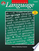 Assessing Language   Grade 8