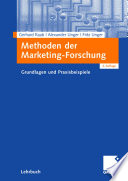Methoden der Marketing-Forschung