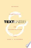 Textualities