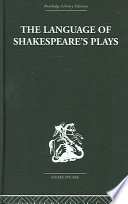 The Language Of Shakespeare S Plays