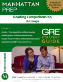 Reading Comprehension   Essays GRE Strategy Guide  3rd Edition