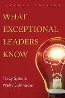 Ebook What Exceptional Leaders Know: High Impact Skills, Strategies & Ideas for Leaders Epub Tracy Spears,Wally Schmader Apps Read Mobile