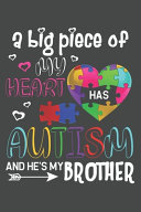 A Big Piece Of My Heart Has Autism And He S My Brother