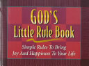 God s Little Rule Book