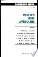 Contrechamps tome 6   musiques nord am  ricaines