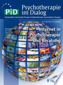 Psychotherapie im Dialog - Internet in Psychotherapie und Beratung
