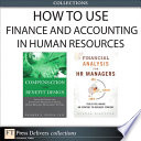 How to Use Finance and Accounting in HR  Collection
