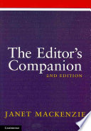 The Editor s Companion