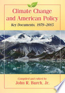 Climate Change and American Policy