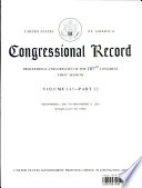 Congressional Record  Proceedings and Debates of the 107th Congress  First Session Vol  147 Part 12
