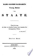 Vierzig Bücher vom Staate