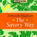 Book Savory Way Recipeasel