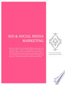 ROI   Social Media Marketing