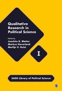 Qualitative Research in Political Science