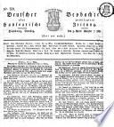 Deutscher Beobachter oder privilegirte hanseatische Zeitung