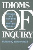 Idioms of Inquiry