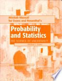 Probability and Statistics Minitab Manual