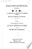 Siegfried Gotthilf Eckardt genannt: Koch, k.k. Hofschauspieler und Regisseur des k.k. Hoftheaters in Wien (etc.) Eine biographische Skizze ... verf. von Max Karl Baldamus