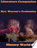 Literature Companion  Mrs  Warren s Profession