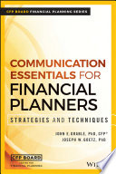 Communication Essentials For Financial Planners