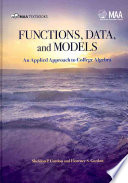 Functions  Data and Models