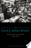 The Carol J  Adams Reader