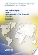 Global Forum On Transparency And Exchange Of Information For Tax Purposes Peer Reviews Cameroon 2016 Phase 2 Implementation Of The Standard In Practice