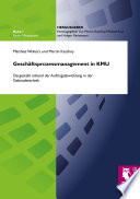Geschäftsprozessmanagement in KMU