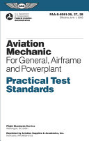 Aviation Mechanic for General, Airframe and Powerplant
