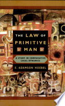 The Law of Primitive Man