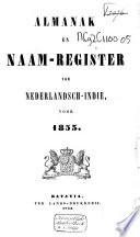 Almanak van Nederlandsch-Indië voor het jaar ....