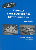 Colorado Land Planning and Development Law