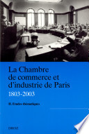 Le chambre de commerce et d industrie de Paris