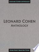 Leonard Cohen Anthology  Songbook