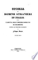 Storia dei Dominii Stranieri in Italia