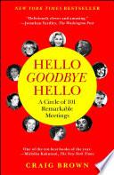 Book Hello Goodbye Hello
