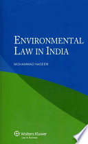 Environmental Law in India