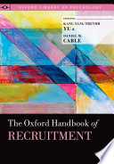 The Oxford Handbook of Recruitment