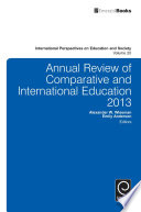 Annual Review of Comparative and International Education 2013