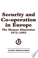 Security and Co operation in Europe