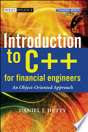 Introduction to C   for Financial Engineers