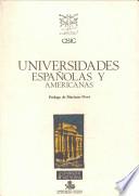 Universidades españolas y americanas