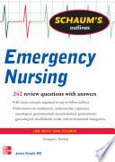 Schaum s Outline of Emergency Nursing