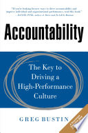 Accountability  The Key to Driving a High Performance Culture