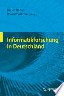 Informatikforschung in Deutschland