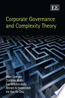 Corporate Governance and Complexity Theory