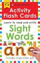 Activity Flash Cards Sight Words