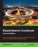download ebook elasticsearch cookbook - second edition pdf epub